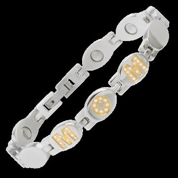 MOM Gold Gem Magnetic Bracelet
