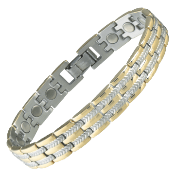 Executive Regal Duet Magnetic Bracelet