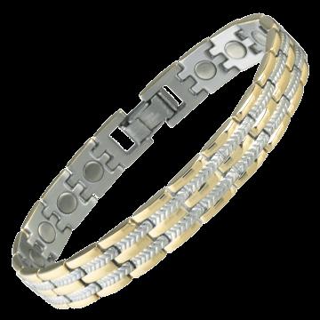 Executive Regal Duet Magnetic Bracelet
