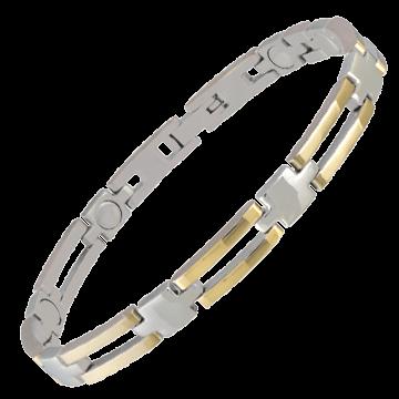 Lady Executive Slim Bar Duet Magnetic Bracelet
