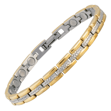Lady Executive Regal Duet Magnetic Bracelet