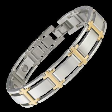 Executive Symmetry Duet Magnetic Bracelet