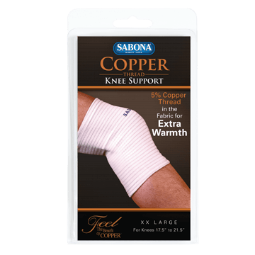 Copper Thread Knee Support