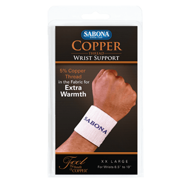 Copper Thread Wrist Support