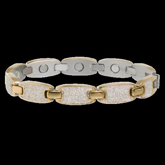 Caribbean Sunshine Magnetic Bracelet in Gold