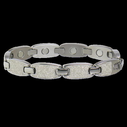 Caribbean Sunshine Magnetic Bracelet in Silver