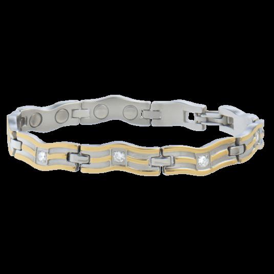 Lady Serpentine Gold Magnetic Bracelet