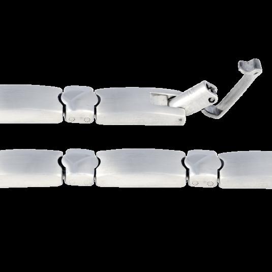 Stainless Elegance Magnetic Bracelet, clasp