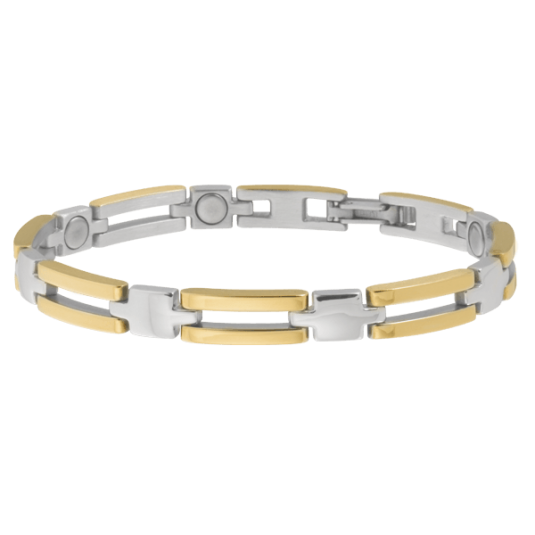 Lady Executive Slim Bar Duet Magnetic Bracelet