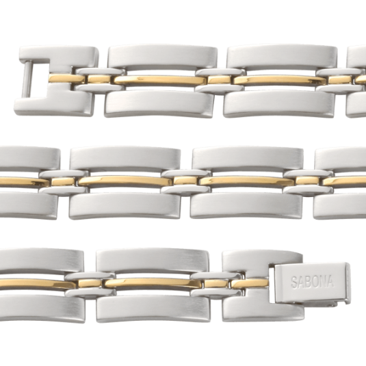 Imperial Duet Magnetic Bracelet, straight