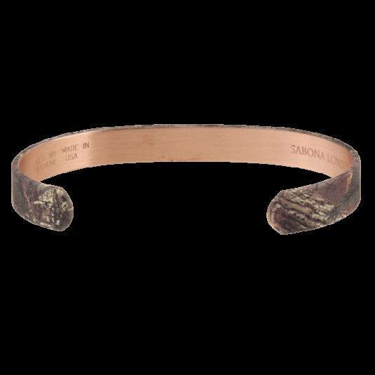 REALTREE® Camo Copper Wristband, back