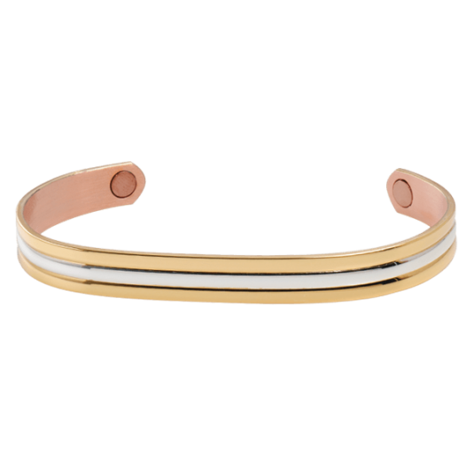 Gold/Silver Classic Duet Magnetic Bracelet