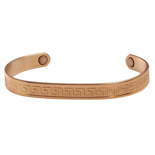 Aztec Copper Magnetic Bracelet