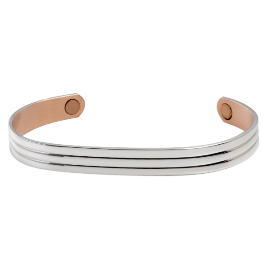 Classic Silver Magnetic Bracelet