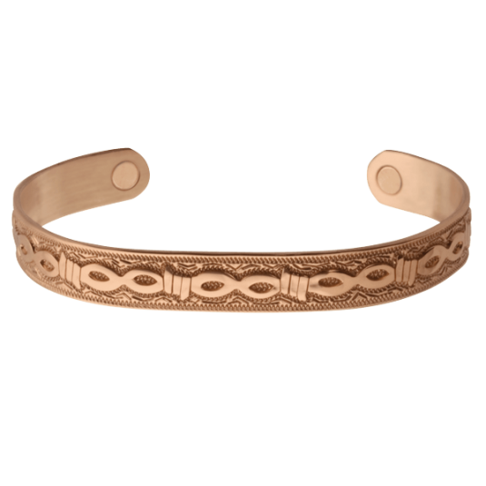 Copper Barb Magnetic Wristband