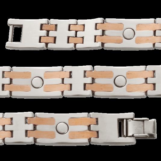 Stainless/Copper Bar Magnetic, flat (inside)